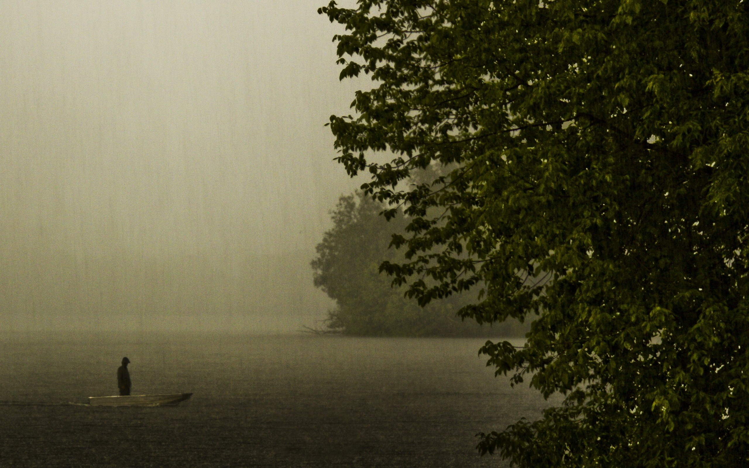 Black Iphone 7 Wallpaper Rainy Day On The Lake Wallpapers Rainy Day On The Lake
