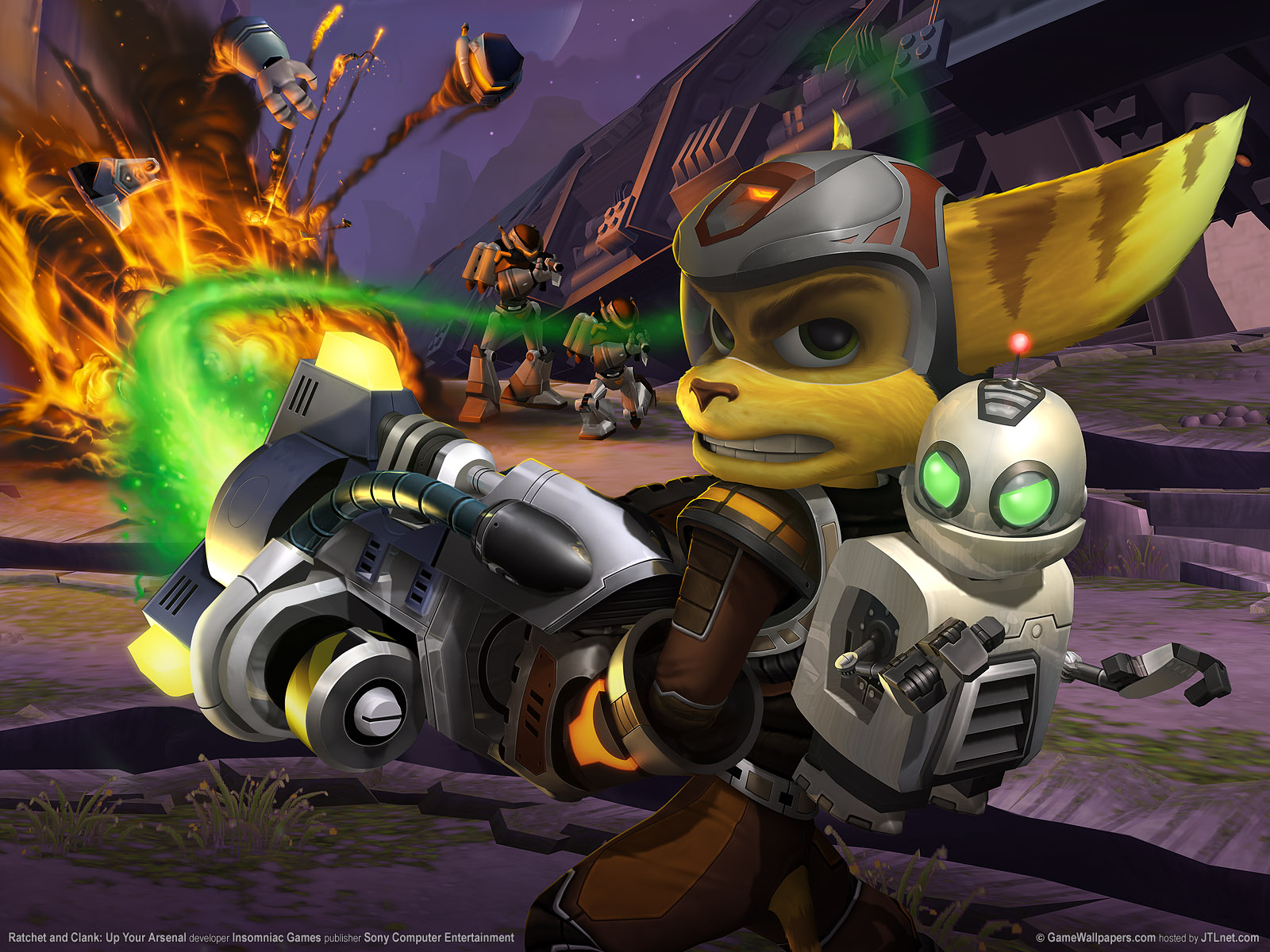 Devil May Cry 3d Wallpaper Ratchet Amp Clank Fondos De Pantalla Ratchet Amp Clank Fotos
