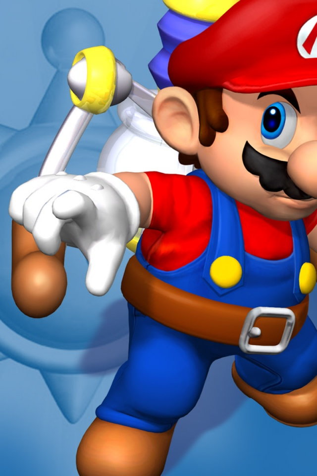 Iphone Plus Wallpaper 640x960 Super Mario Sunshine Iphone 4 Wallpaper