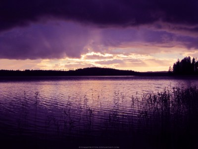 1024x768 The Calm After the Storm desktop PC and Mac wallpaper