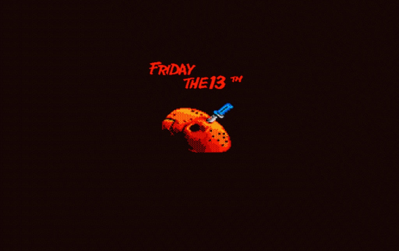 Gameboy Iphone Wallpaper Retro Friday The 13th Wallpapers Retro Friday The 13th