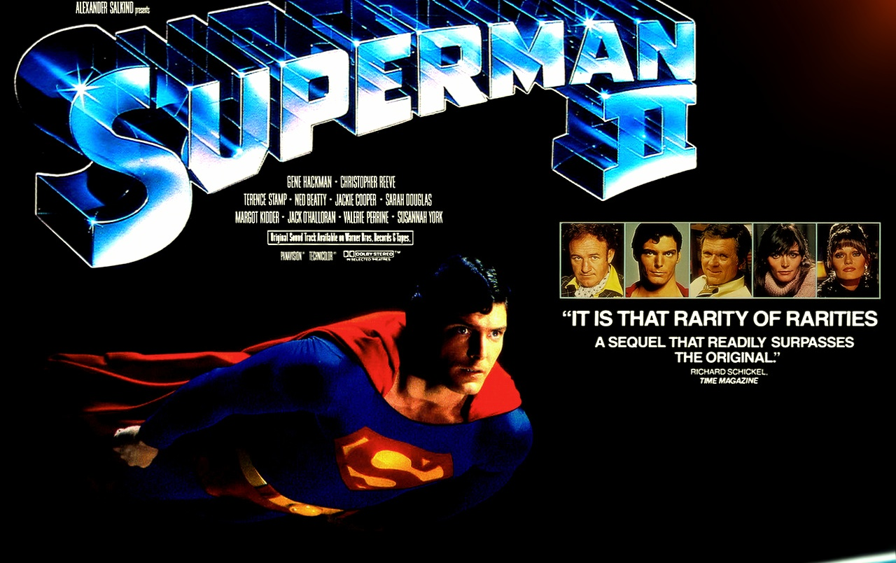 Wallpaper 3d Moving For Mobile Classic Cinema Superman Ii Wallpapers Classic Cinema