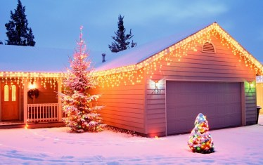 Christmas House Decorations wallpapers