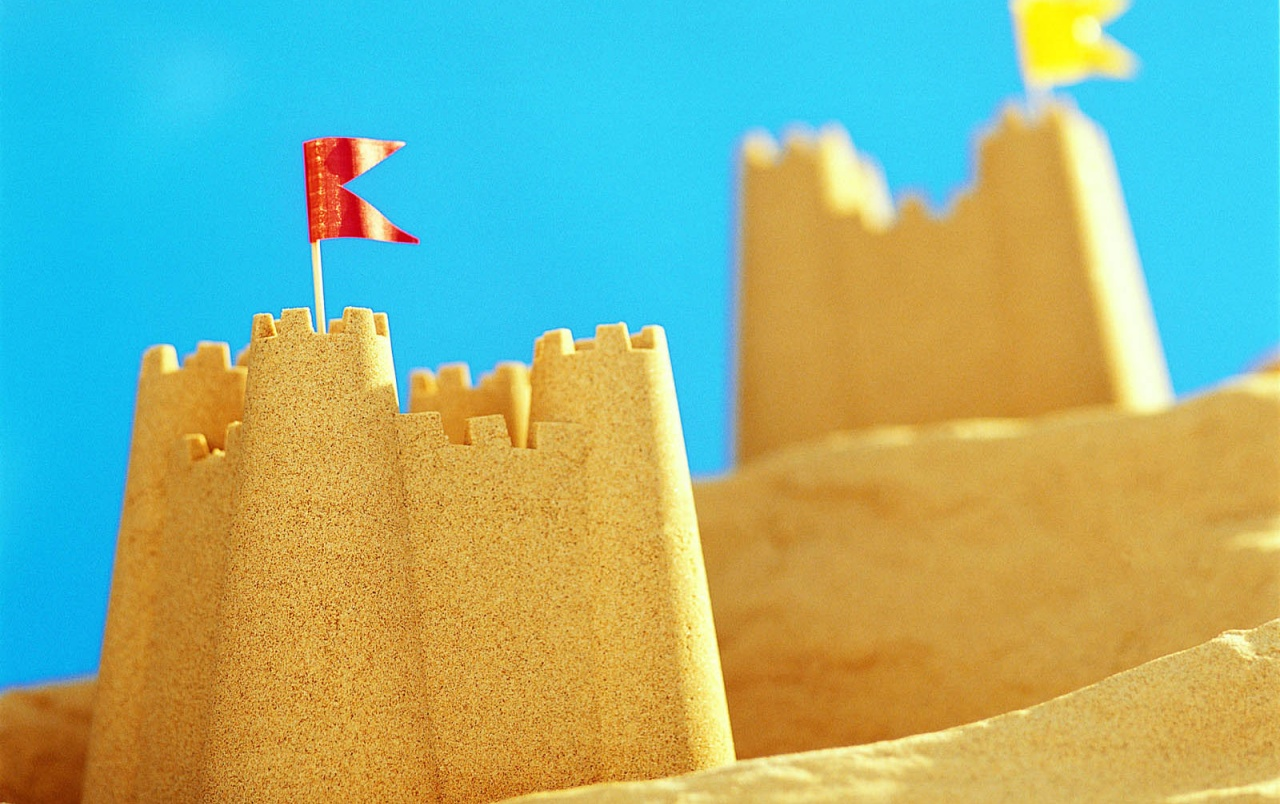Original Iphone Wallpaper Earth Sand Castle Wallpapers Sand Castle Stock Photos