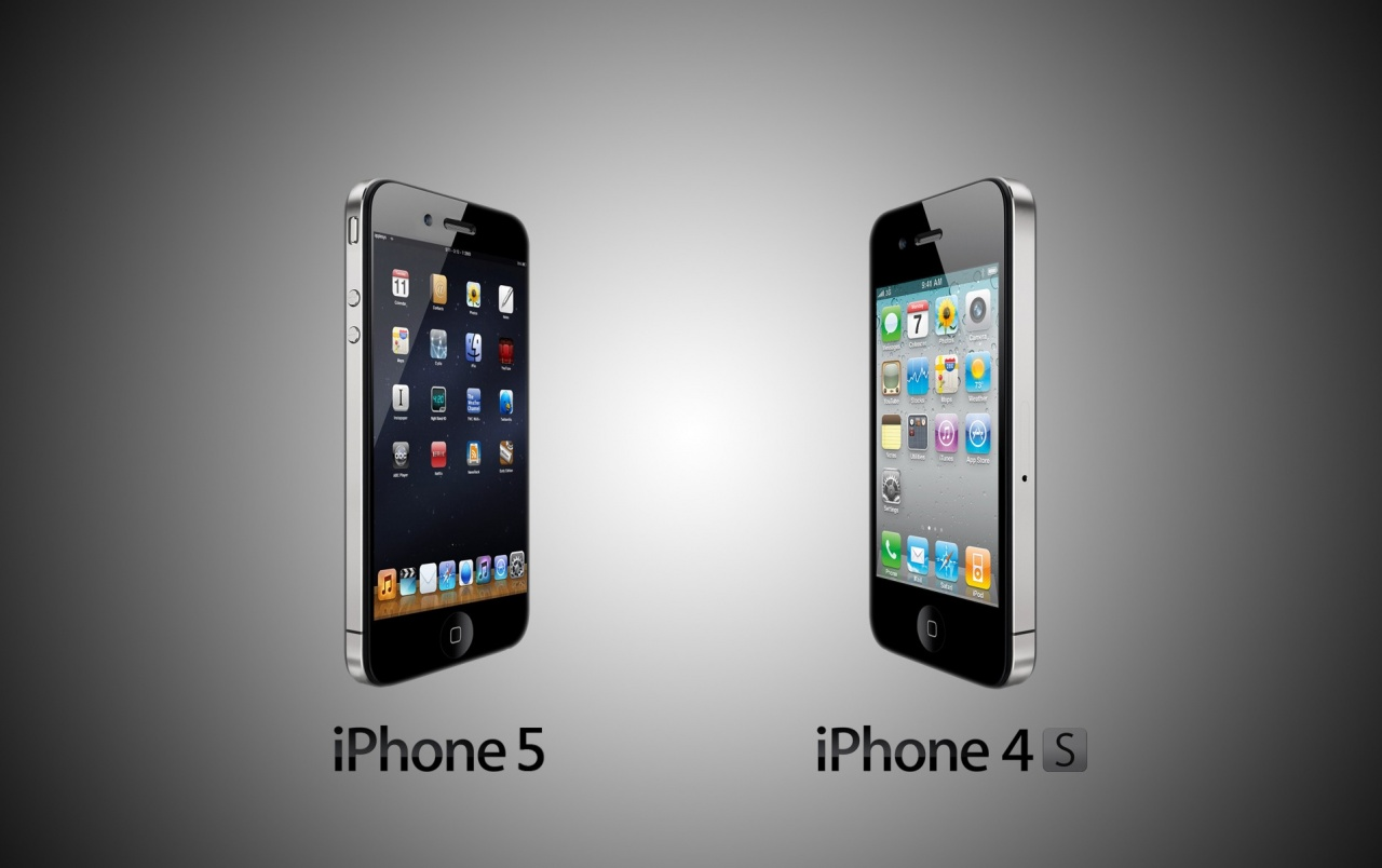Iphone 4s Iphone 5 Vs Iphone 4s Wallpapers Iphone 5 Vs Iphone 4s