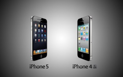 iPhone 5 vs Iphone 4s wallpapers | iPhone 5 vs Iphone 4s stock photos