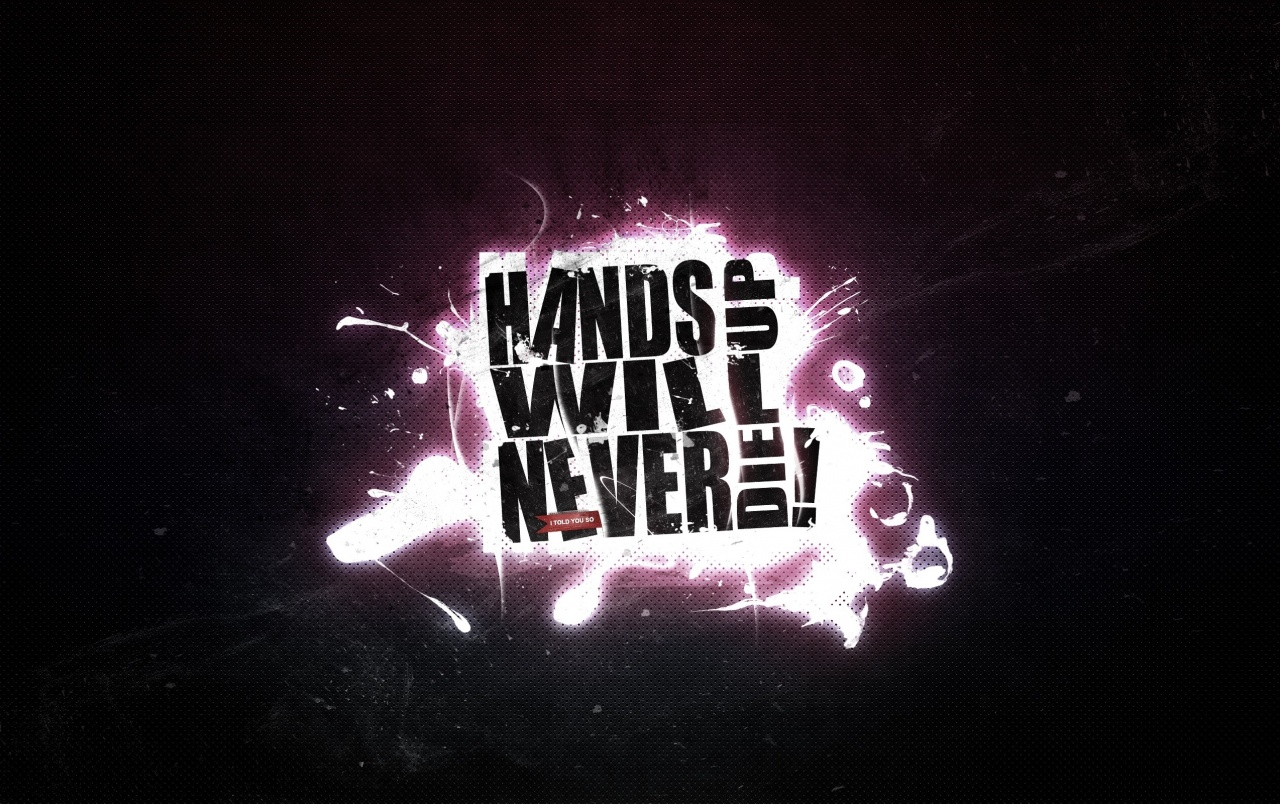 Cool 3d Ipad Wallpapers Hands Up Will Never Die Wallpapers Hands Up Will Never