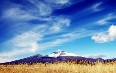 Purple Mountains Behind Field wallpapers | Purple Mountains Behind Field stock photos