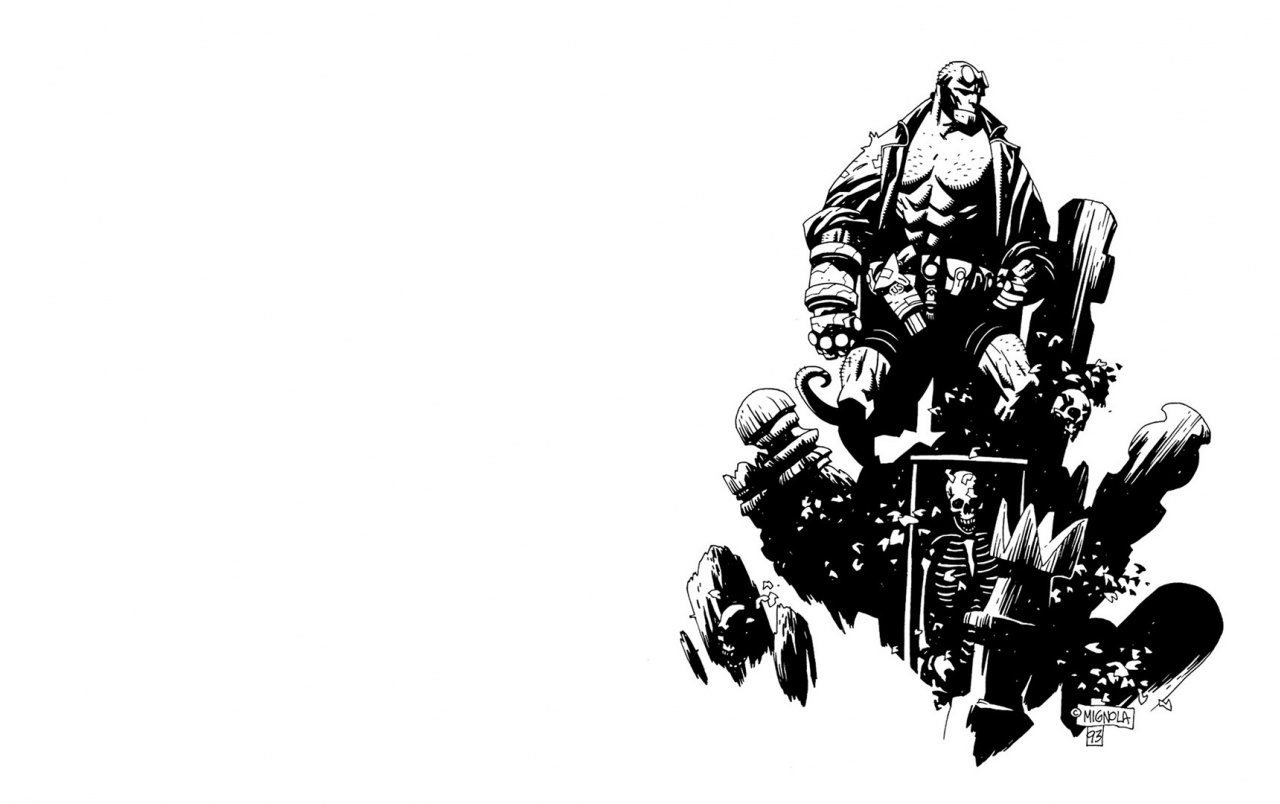 Boy And Girl Wallpaper For Facebook Cover Hellboy Comics Wallpapers Hellboy Comics Stock Photos