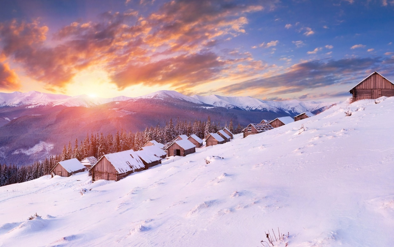Fall Winter Iphone Wallpaper Amazing Winter Sunset Wallpapers Amazing Winter Sunset