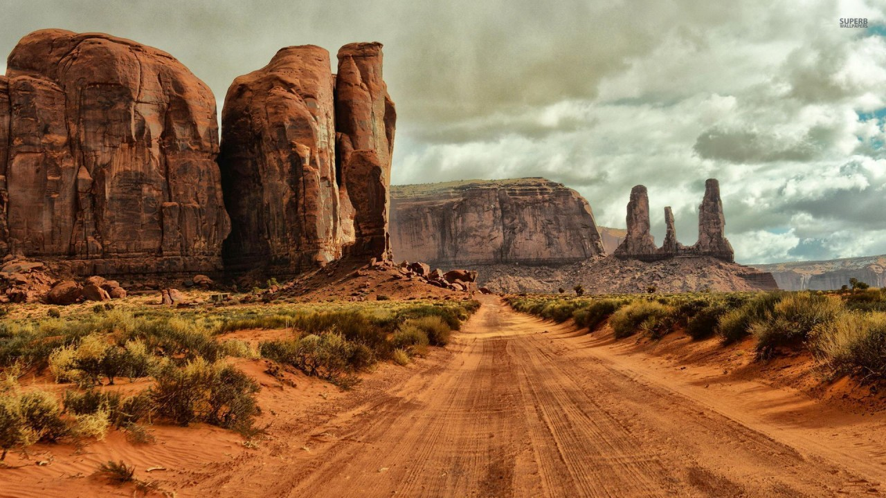 Free 3d Scenic Wallpaper Monument Valley Arizona Utah Wallpapers Monument Valley
