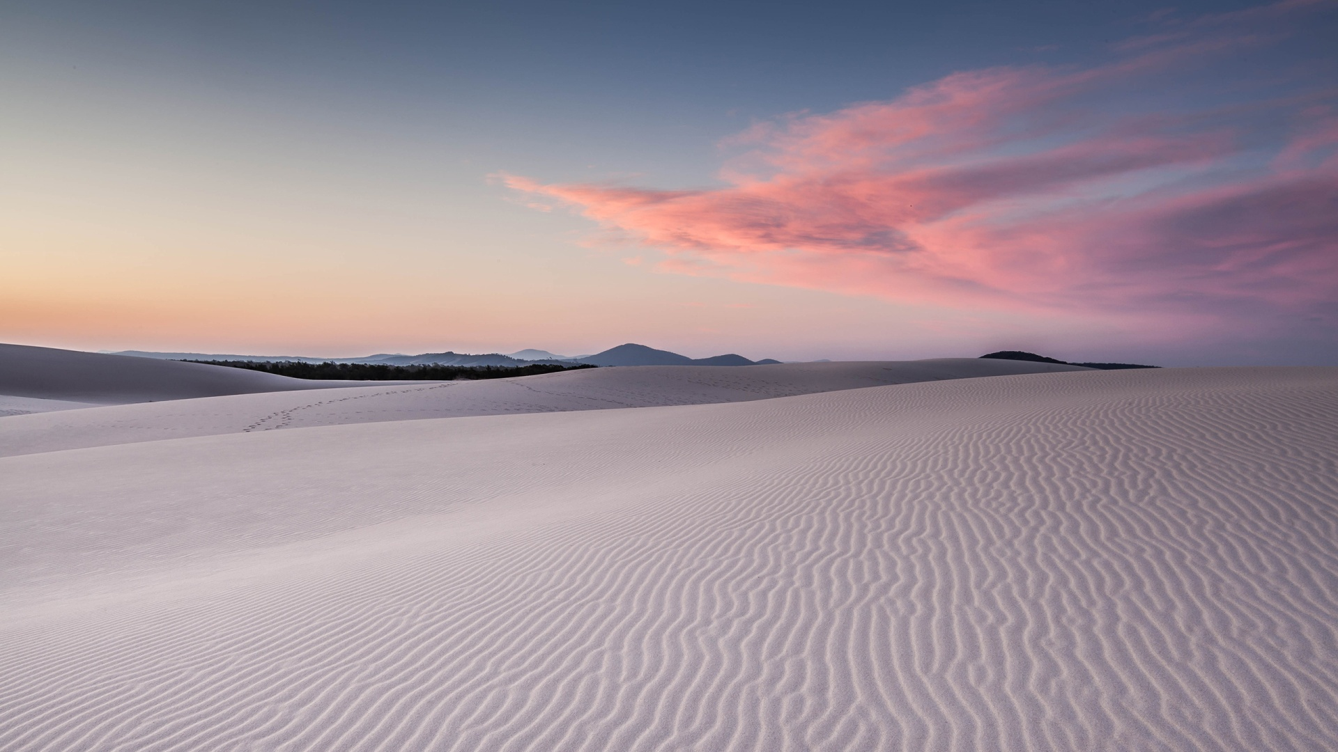 Ooty Hd Wallpapers 1920x1080 White Desert Amp Pink Clouds Desktop Pc And Mac