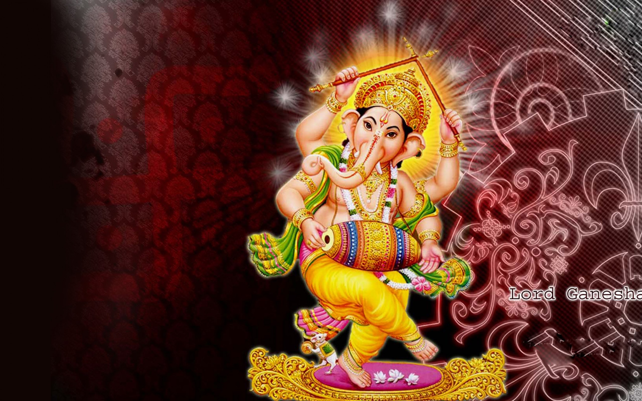 Desktop Wallpaper Hd 3d Full Screen God Ganesh Lord Ganesha Hd Wallpaper Wallpapers Trend