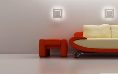 3D Sofa 4K HD Desktop Wallpaper for 4K Ultra HD TV • Dual Monitor Desktops • Tablet • Smartphone ...