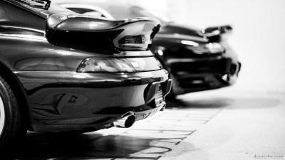Porsche 993 Turbo and Porsche 996 Turbo Whale Tails 4K HD Desktop Wallpaper for 4K Ultra HD TV ...