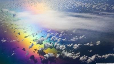 Aerial View Of Rainbow 4K HD Desktop Wallpaper for 4K Ultra HD TV • Wide & Ultra Widescreen ...