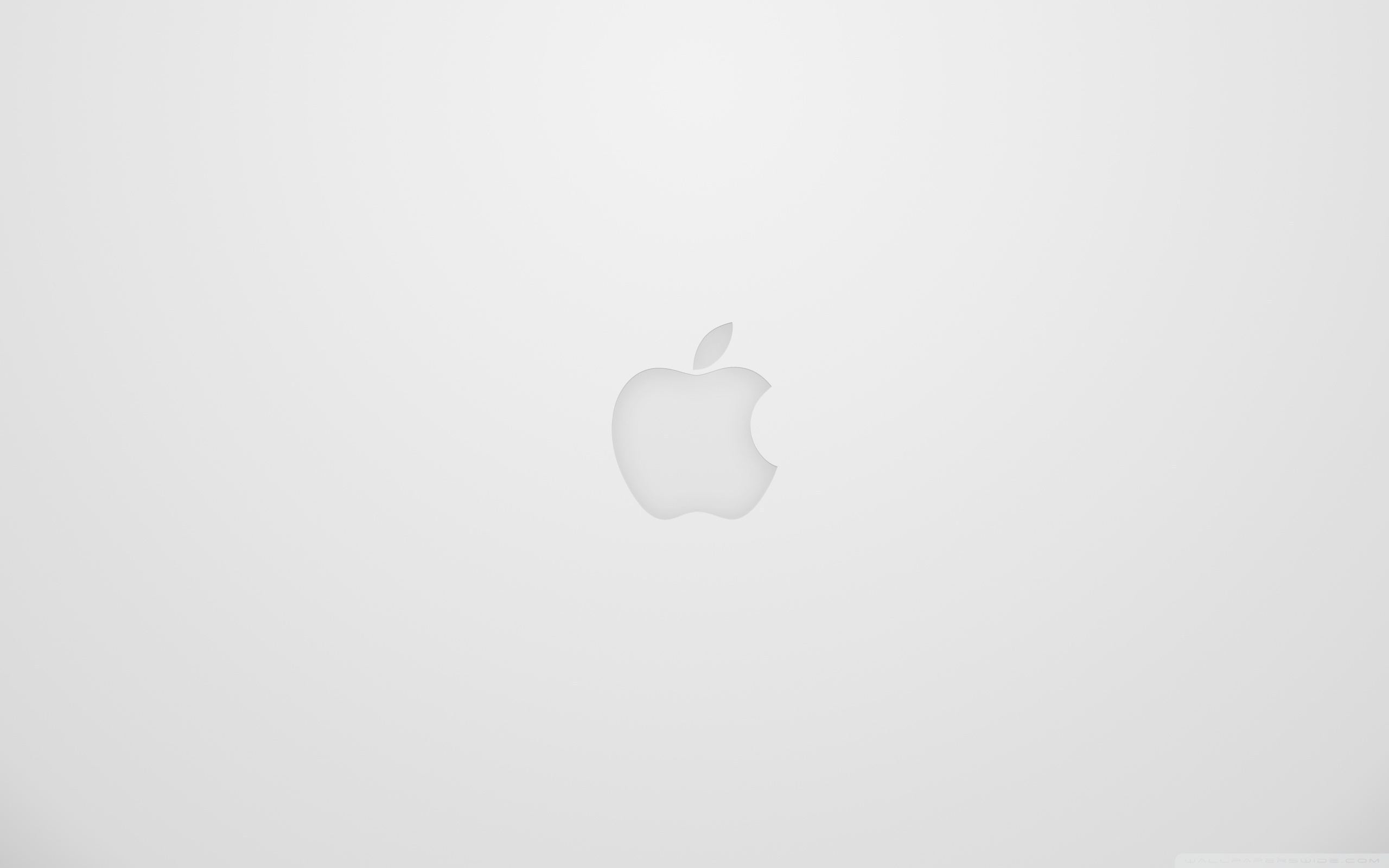 3d Silver Grey Wallpaper Apple Logo White 4k Hd Desktop Wallpaper For 4k Ultra Hd