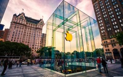 Apple Store NYC 4K HD Desktop Wallpaper for 4K Ultra HD TV • Wide & Ultra Widescreen Displays ...