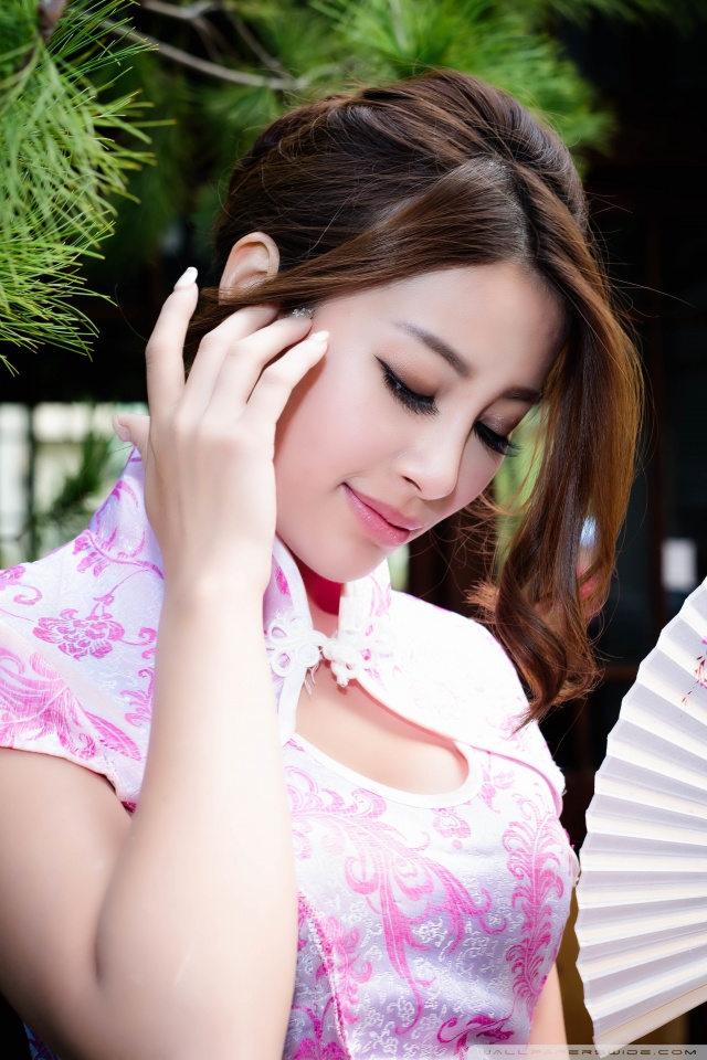 Cute Chinese Girl Desktop Wallpaper Asian Girl Hd Desktop Wallpaper Fullscreen Mobile