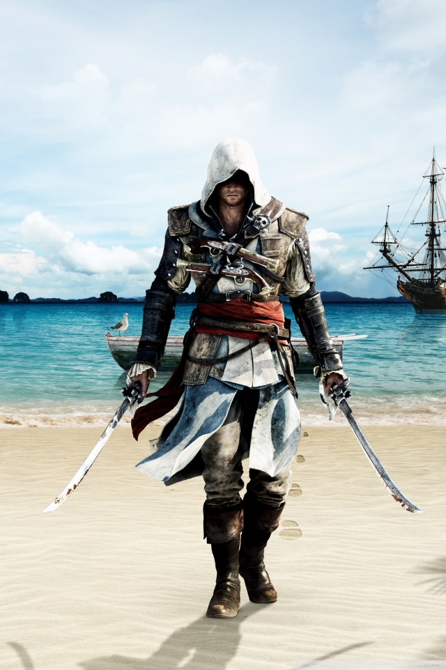 Black Wolf Wallpaper Assassin S Creed Iv Black Flag 4k Hd Desktop Wallpaper For
