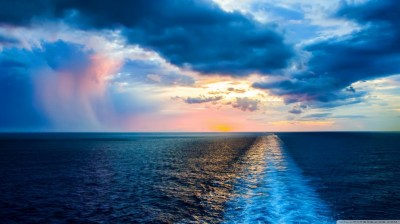Atlantic Ocean 4K HD Desktop Wallpaper for 4K Ultra HD TV • Tablet • Smartphone • Mobile Devices