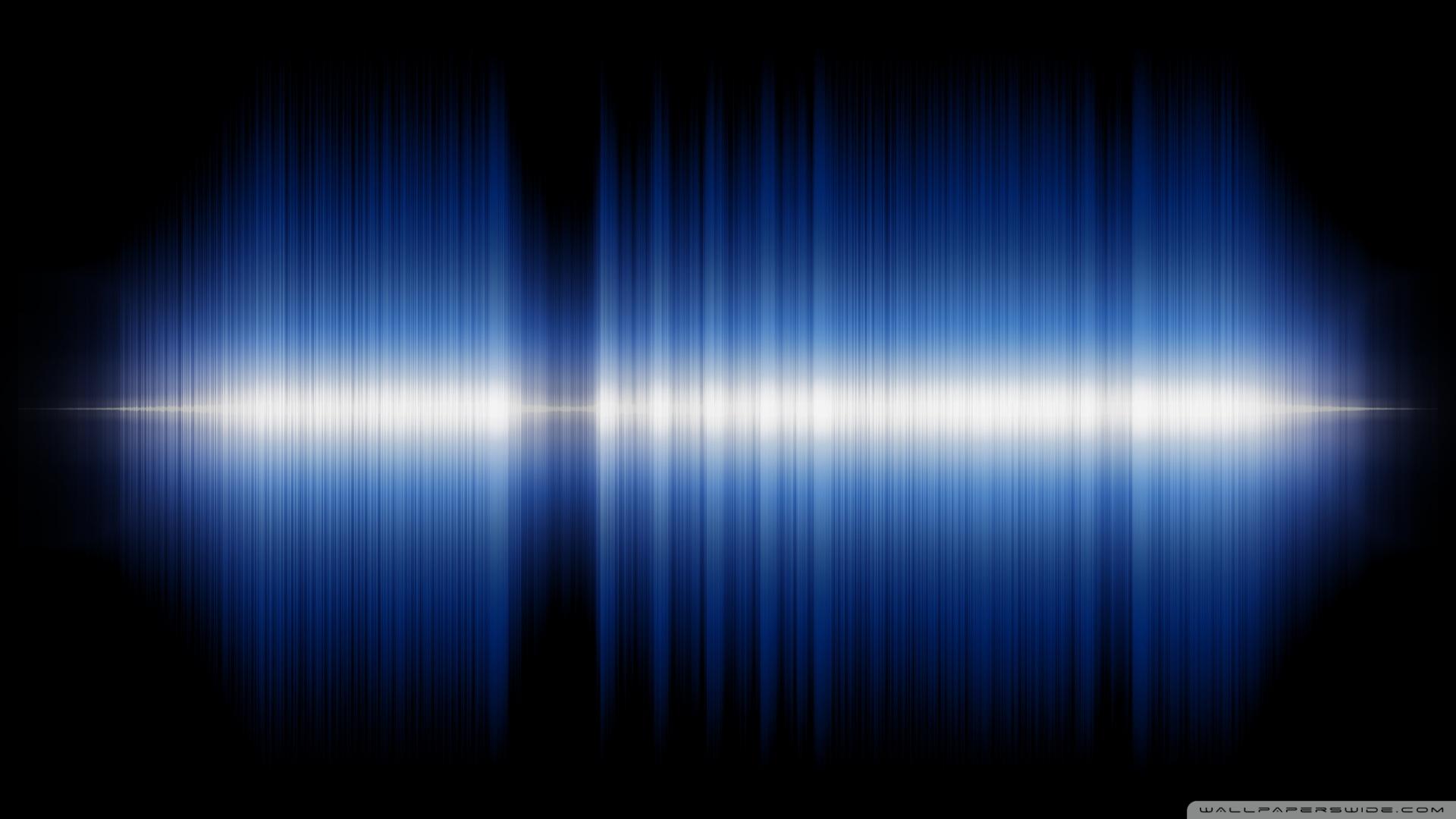 Dual Monitor Animated Wallpaper Audio Sound Wave 4k Hd Desktop Wallpaper For 4k Ultra Hd