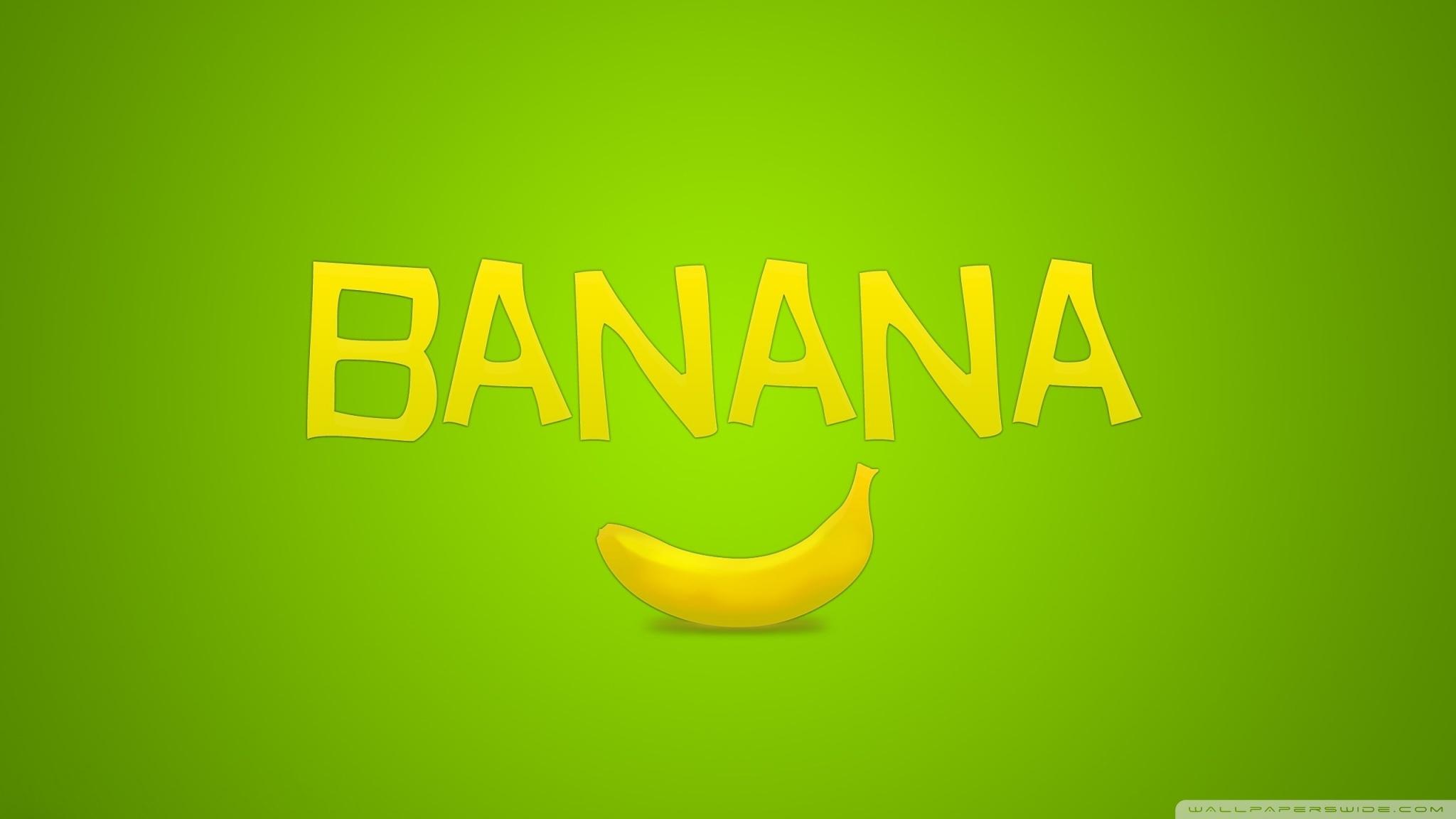 Dual Monitor Animated Wallpaper Banana 4k Hd Desktop Wallpaper For 4k Ultra Hd Tv Dual