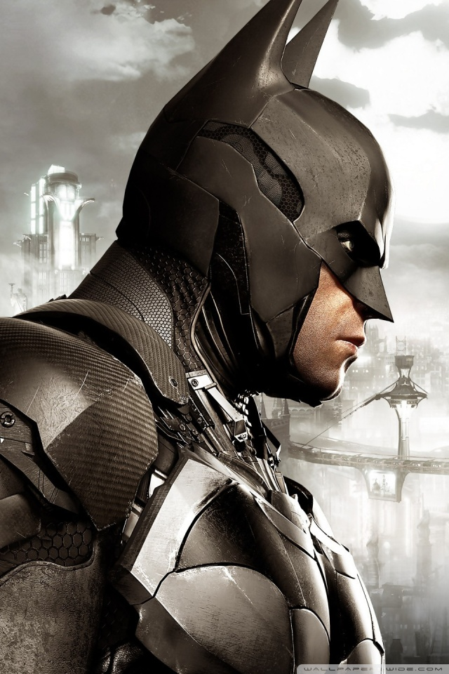 Superman Iphone Wallpaper Batman Arkham Knight 4k Hd Desktop Wallpaper For Wide