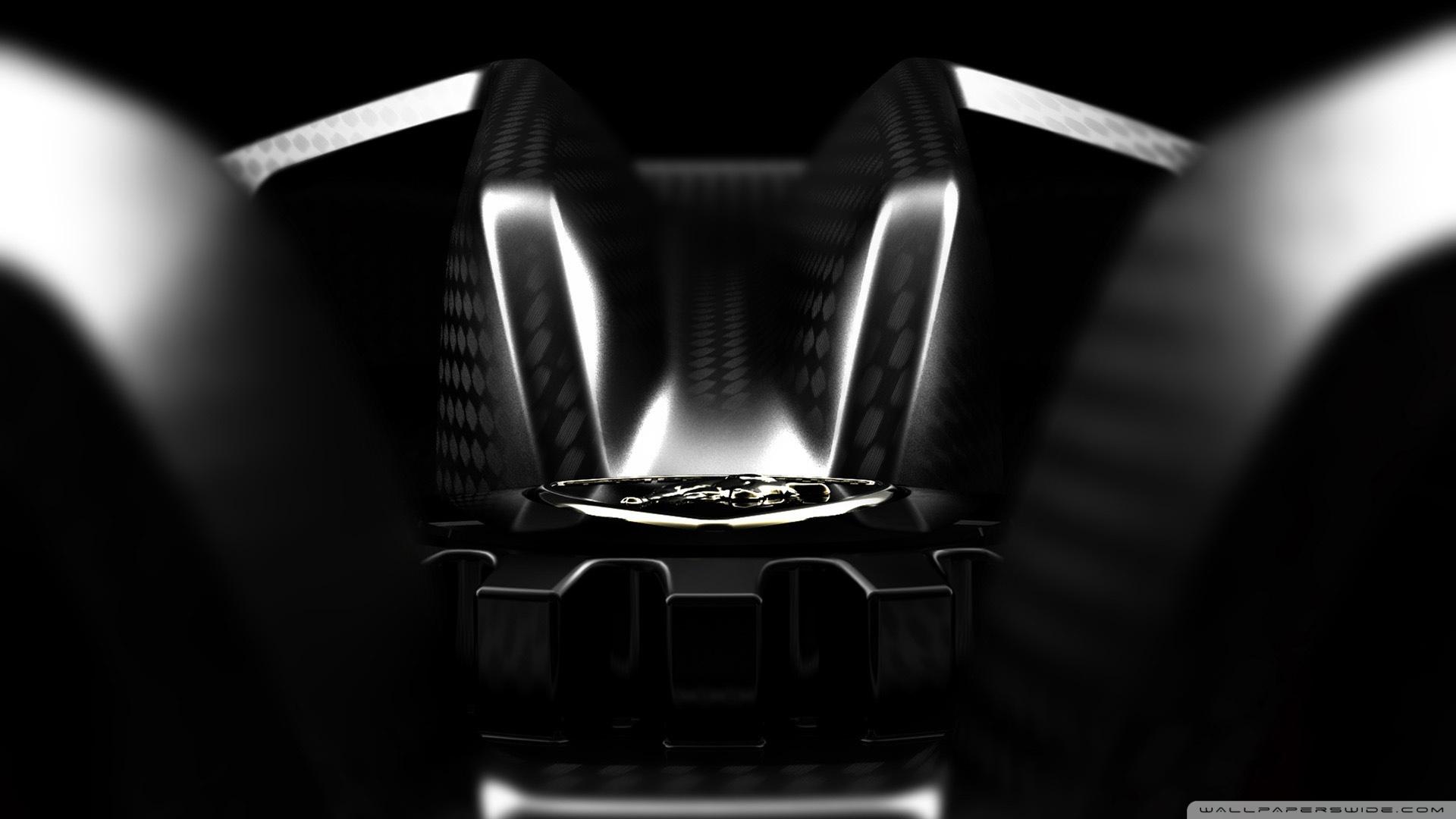 Lamborghini Sesto Elemento Wallpaper Hd Black Lamborghini 4k Hd Desktop Wallpaper For 4k Ultra Hd