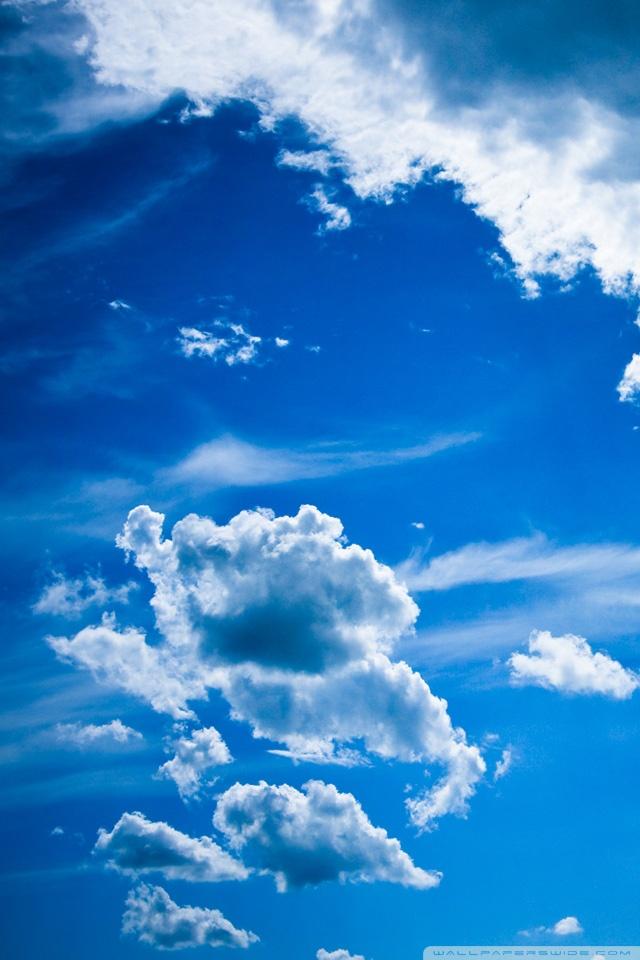 Iphone Book Wallpaper Blue Clouds 4k Hd Desktop Wallpaper For 4k Ultra Hd Tv