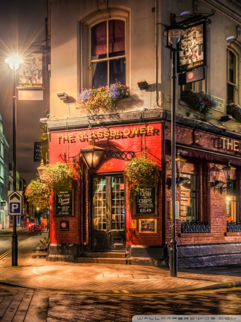 Iphone X Dynamic Wallpaper Brewer Pub London 4k Hd Desktop Wallpaper For 4k Ultra Hd