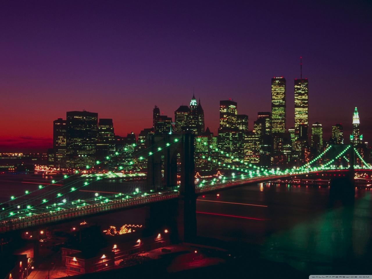 Download Wallpaper Hp 3d Brooklyn Bridge New York 4k Hd Desktop Wallpaper For 4k