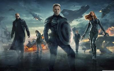 Captain America The Winter Soldier 2014 4K HD Desktop Wallpaper for 4K Ultra HD TV • Wide ...