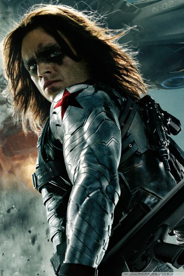 Superhero Wallpaper Hd Download Captain America The Winter Soldier Bucky 4k Hd Desktop