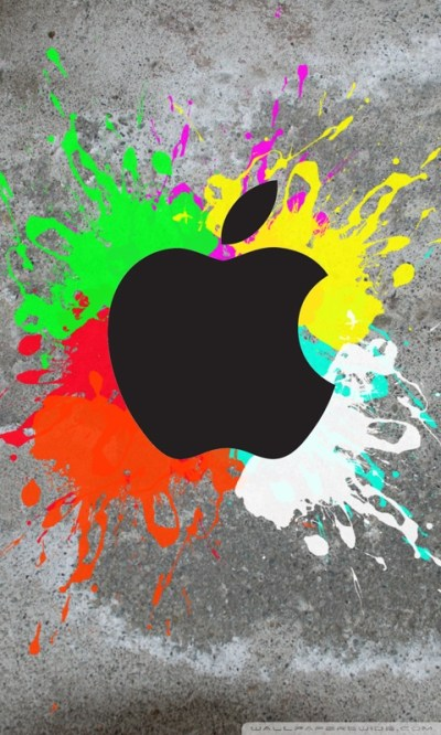 Colorful Apple 4K HD Desktop Wallpaper for 4K Ultra HD TV • Wide & Ultra Widescreen Displays ...
