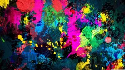 Colorful Paint Splatter 4K HD Desktop Wallpaper for 4K ...