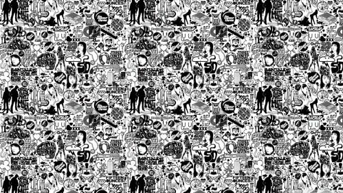 Medium Of Black And White Wallpaper