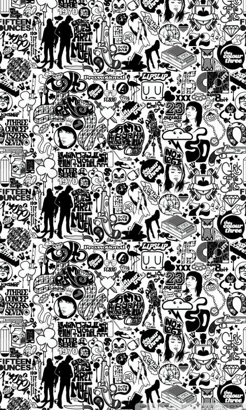 Cute Artsy Wallpapers Comics Black And White 4k Hd Desktop Wallpaper For 4k