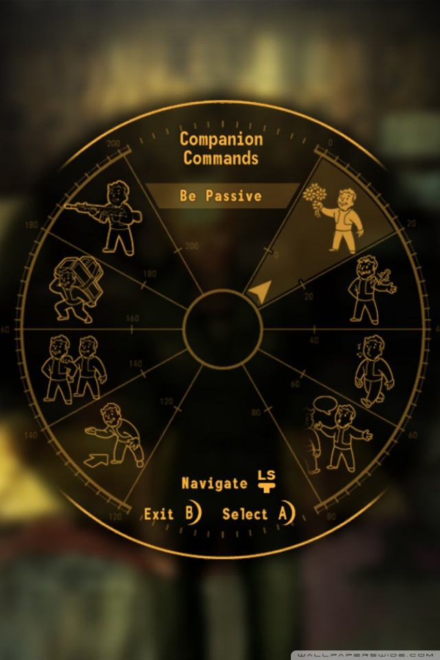 Iphone X Wallpaper Reddit Companion Commands Fallout New Vegas 4k Hd Desktop