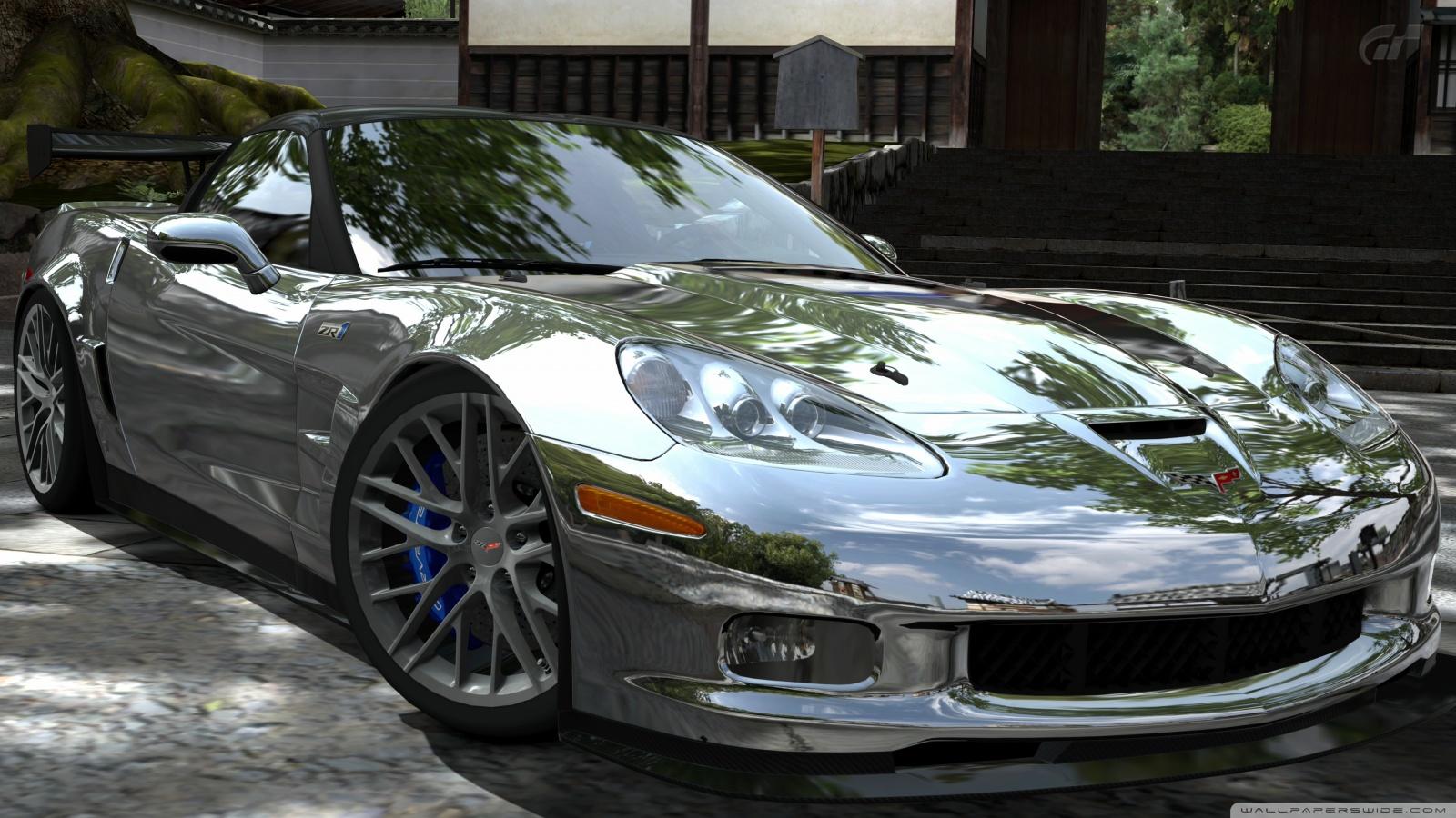 Pagani Zonda R Hd Wallpaper Corvette Zr1 Chrome 4k Hd Desktop Wallpaper For 4k Ultra