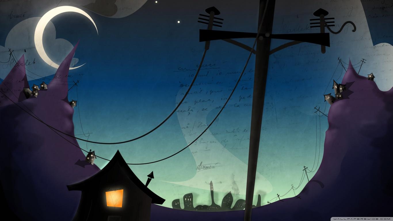 320x480 Animated Wallpapers Dark Cartoon Art 4k Hd Desktop Wallpaper For 4k Ultra Hd