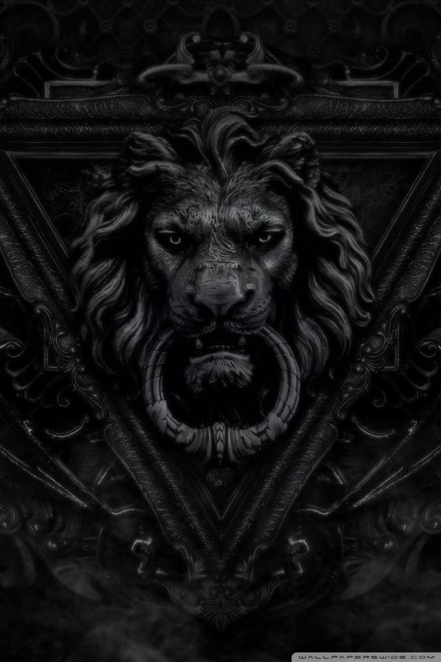 Dark Gothic Lion ❤ 4K HD Desktop Wallpaper for 4K Ultra HD TV