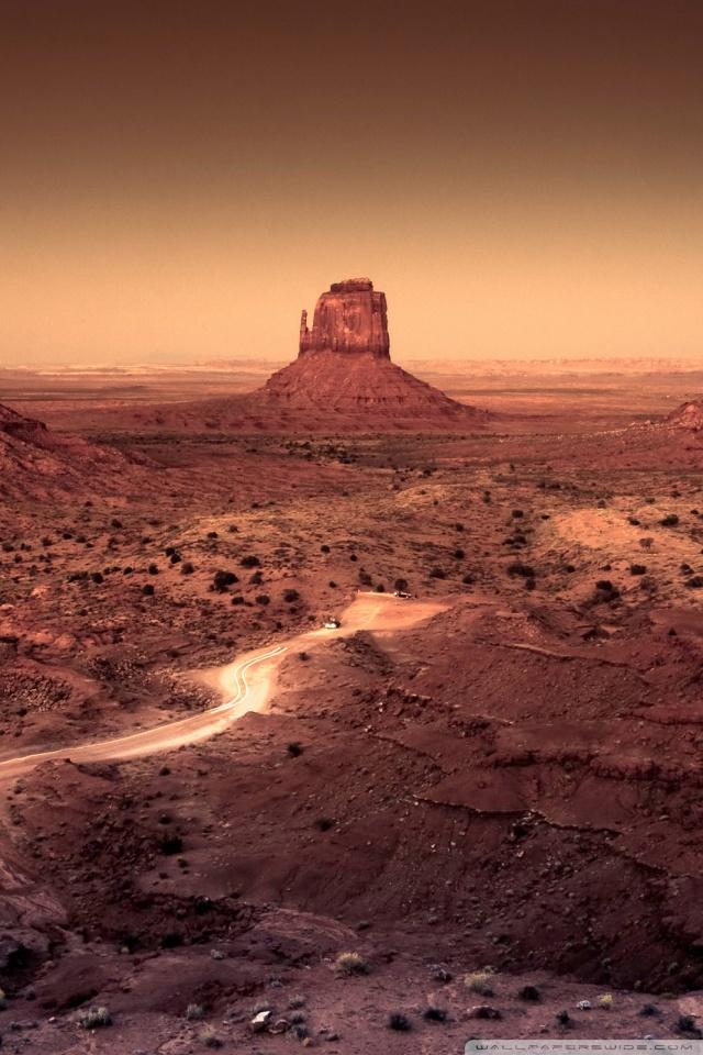 Ipad Hd Wallpapers 1080p Dark Monument Valley Arizona 4k Hd Desktop Wallpaper For