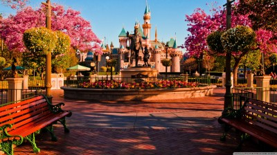 Disneyland's Hub 4K HD Desktop Wallpaper for 4K Ultra HD TV • Wide & Ultra Widescreen Displays ...