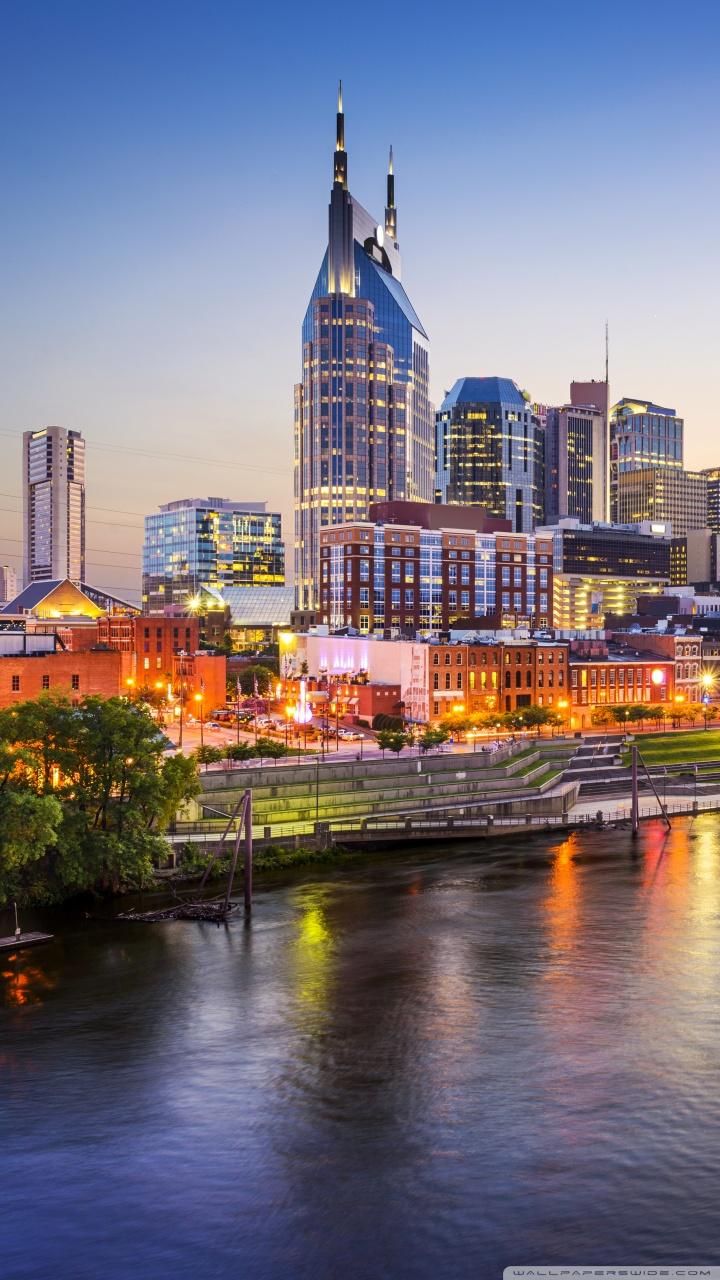 540x960 Resolution Hd Wallpapers Downtown Nashville Tennessee 4k Hd Desktop Wallpaper For