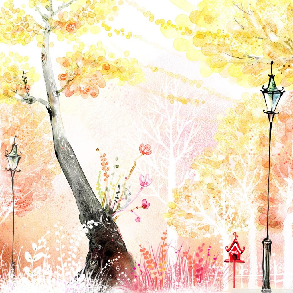 Fall And Thanksgiving Wallpaper Drawings Of Autumn 4k Hd Desktop Wallpaper For 4k Ultra Hd