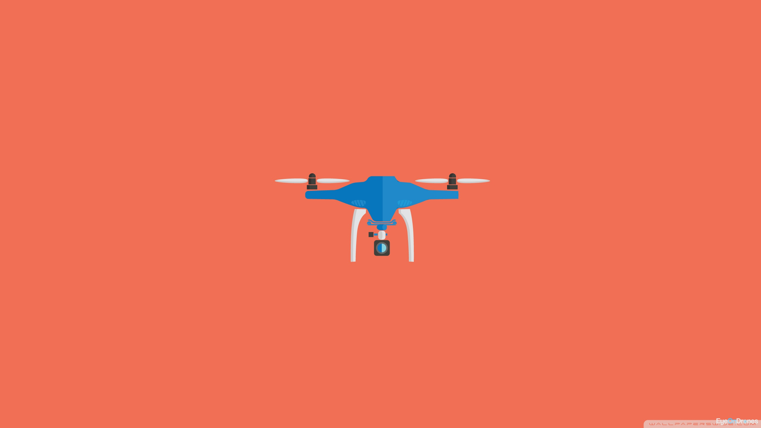 Aviation Wallpaper Iphone X Drone Minimal Artwork Orange 4k Hd Desktop Wallpaper For