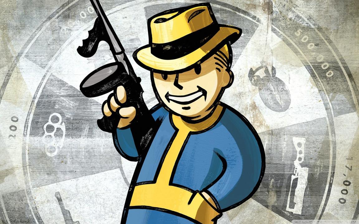 Desktop Wallpaper Fall Out Fallout New Vegas Vault Boy 4k Hd Desktop Wallpaper For