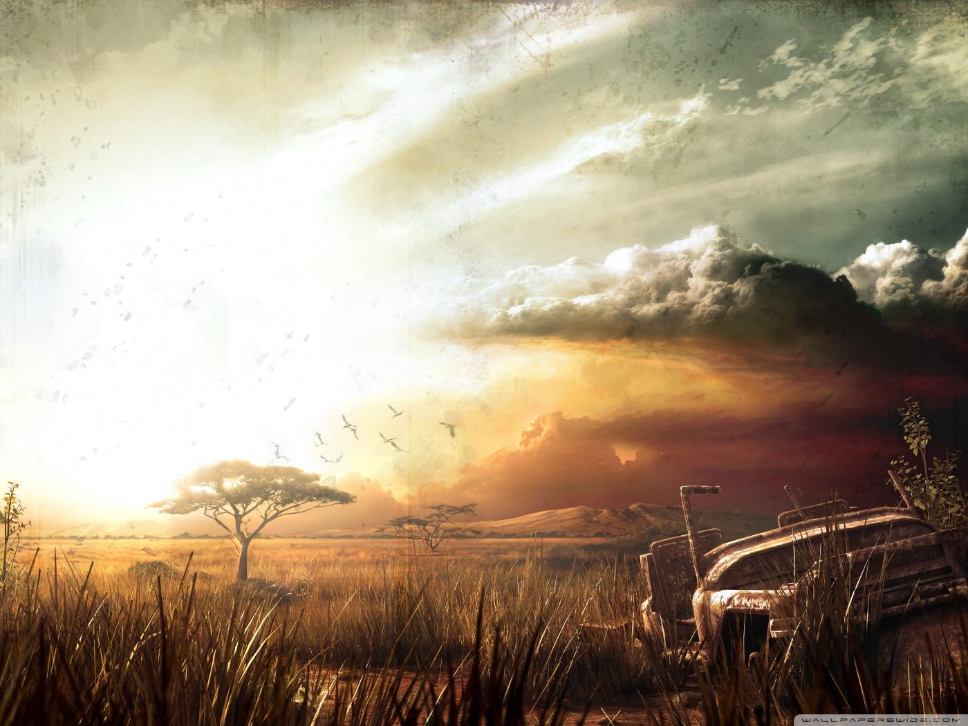 Dual Monitor Wallpaper Hd Far Cry 2 Landscape 4k Hd Desktop Wallpaper For 4k Ultra