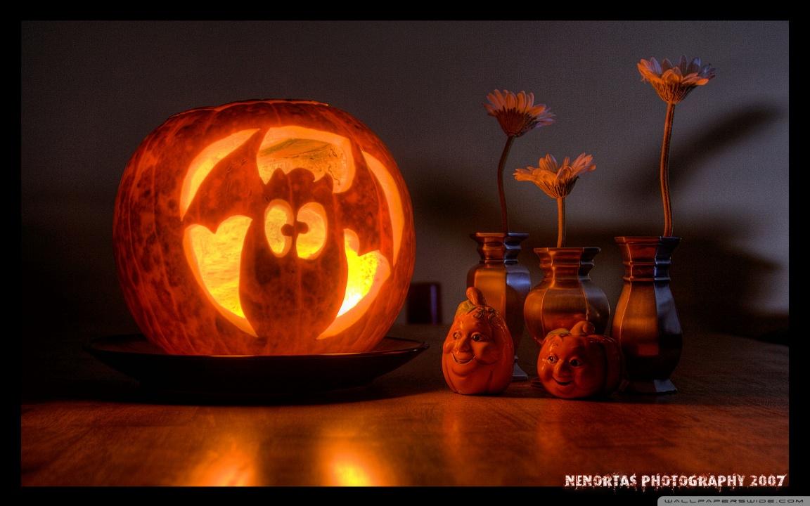 Fall Desktop Wallpaper With Pumpkins Funny Halloween Pumpkin 4k Hd Desktop Wallpaper For Wide